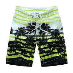 Unisex Boys Girls Cactus Cipart Watercolor Plants Board Shorts Running Outdoor Water Sports Quick-Dry Boardshorts