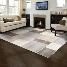 Found it at Wayfair - Clifton Brown Area Rug