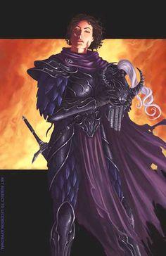 f Fighter hilvl LN Plate Armor Helm Cloak Sword Kitiara uth Matar Planes Traveler lg Fantasy Warrior, Fantasy Races, High Fantasy, Medieval Fantasy, Sci Fi Fantasy, Forgotten Realms, Character Portraits, Character Art, Character Design