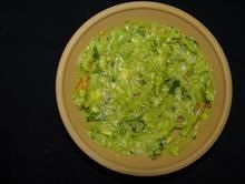Extra Homemade Guacamole from Pico Pica Rico Restaurant in Los Angeles #Food #Guacamole #Restaurant forked.com