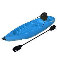 Lifetime® 8' Adult Kayak w/ Paddle & Backrest - Blue - Sam's Club