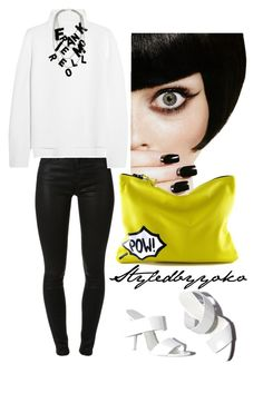 """""""Coco #74"""" by styledbyyoko ❤ liked on Polyvore featuring J Brand, Vanessa Bruno, Frankie Morello and Alexander Wang"""