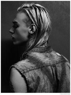 Grunge & Cigarettes: David Svedulf by Niklas Bergstrand image David Svedulf 2014 Model Photo 002