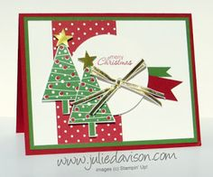 Festival of Trees Christmas Card + Sketch Challenge Reminder