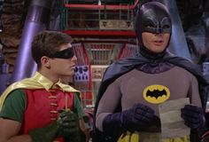 [Burt Ward and Adam West - Batman 1966] Today is Batman Day (according to DC Comics)! At the blog, we celebrate 75 years of the Caped Crusader.