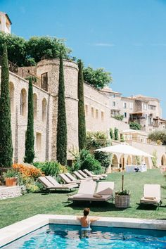 With three outdoor swimming pools, a sauna, multiple bars and restaurants, and easy access to the historical district of Gordes, this 5-star hotel is all the glam you could hope for on your French trip abroad. Snack on locally made cheeses and crisps, sip on rosé and toast to the good life from the terrace of La Bastide de Gordes. | Photo Credit: The Londoner