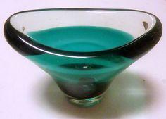 Glassvase- Magnor, Rondane Brukt & Antikk