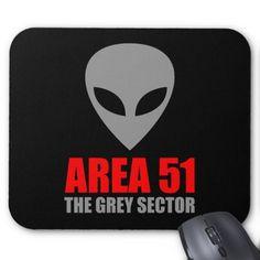 AREA 51 Grey Alien Mousepads #Mousepad #Area51 #GreyAlien #Alien