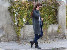 Biker boots outfit.  #fashion #style #outfitinspiration #autumnoutfit
