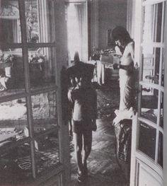 Keith Richards and Marlon France 1971