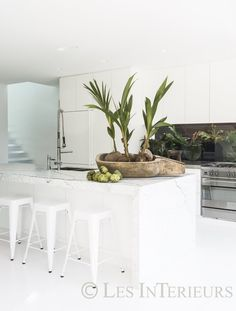 All white - Les Interieurs, Interior Design by Pamela Makin, Sydney