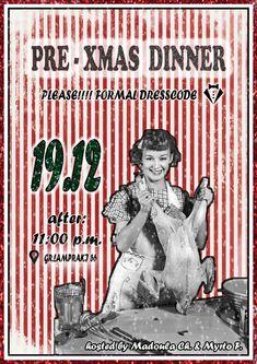 PRE - XMAS DINNER (home edition)