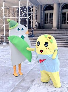 Funassyi goes to the USA