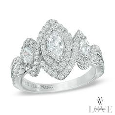 A modern take on the traditional marquise cut diamond.