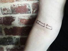 Bon Iver tattoo: Patient fine balanced kind More