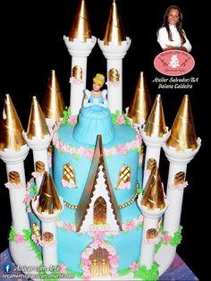 Bolo Castelo Princesa Cinderela