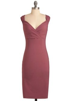 Lady Love Song Dress in Mauve, @ModCloth