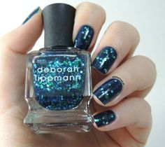 Blue Nail Art Designs and Ideas (38)