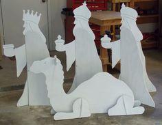 Outdoor nativity set phase 3.