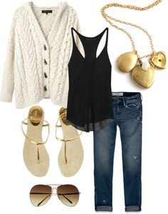 """With Gold"" by hmhm ❤ liked on Polyvore"
