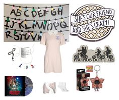 """""""Stranger Things"""" by devlewlew on Polyvore featuring Funko and Madewell"""