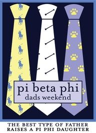Pi Beta Phi Dad's Weekend: The Best type of father raises a Pi Phi daughter #piphi #pibetaphihttp://pinterest.com/oneilj/pi-beta-phi-is-the-only-way-to-go/