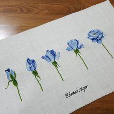 """716 Beğenme, 25 Yorum - Instagram'da demet özger (@demetozger): """"Mavi güller yarın Elazığ yolcusu.  Zeynep hanım @zzucm Güzel günlerde kullanın. #benyaptım…"""""""