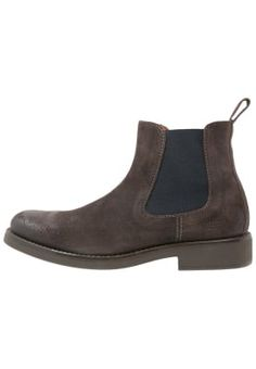 ALVIN  - Støvletter - dark brown Dark Brown, Chelsea Boots, Ankle, Shoes, Fashion, Brown, Moda, Zapatos, Wall Plug