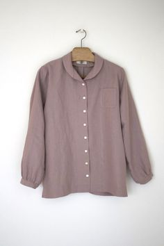 Linet pattern shawl collar blouse