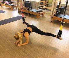 Trx Full Body Workout, Pilates Workout, Gym Workouts, Cardio, Pilates Reformer, Workout Fitness, Suspension Workout, Suspension Training, Fitness Inspiration