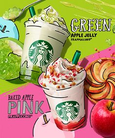 Discover recipes, home ideas, style inspiration and other ideas to try. Food Graphic Design, Food Poster Design, Japanese Graphic Design, Graphic Design Typography, Food Design, Coffee Advertising, Starbucks Advertising, Creative Advertising, Advertising Design