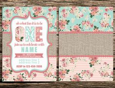 Digital File for Vintage Floral Shabby Chic by SugarPixelsDesign, $20.00