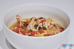 This recipe for Crock Pot Chicken Tortilla soup is one of my most prepared recipes for us. It is quick to throw in and has the perfect little kick!