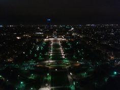 Maravillosas vistas desde la Torre Eiffel