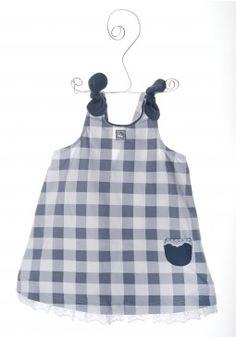 AL AGUA PATOS // Vestido Lazo Vichy