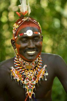 African God of Strength | Africa Antiques - Dogon - Youruba - Kongo. African tribal war paint. www.indigenartmuseum.com, #colorevolution