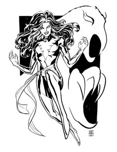Dark Phoenix by Cliff Chiang *