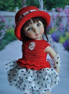 OOAK-OUTFIT-FOR-DOLLS-Little-Darlings-Effner-13. SOLD for $56.00. From Russia.