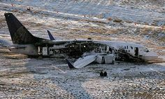 Continental Airlines Boeing 737 Crash Photo From Denver