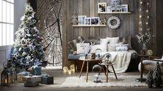 Idées à piquer Pinterest déco Noël rustique chic                                                                                                                                                                                 Plus