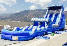 Tent Rentals, Inflatable Rentals and Bounce House Party Rentals in Albuquerque, New Mexico, Arizona, and Nevada Adult Water Slide, Giant Water Slide, Water Slides, 15th Birthday Party Ideas, Birthday Bbq, Tree Houses, Pool Houses, Water Slide Rentals, Street Furniture