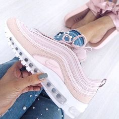 76d67cfe48c Double (pink) trouble with Nike Air Max 97   Puma Fenty slides on .