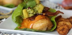 Fully Loaded #Citrus #Marinated #Chicken #Lettuce Wraps #recipe #orange #lemon #lime #pineapple #guacamole #bacon #food #yummy #brainbalance  #addressthecause  #Austin #ATX #TX http://paleomg.com/fully-loaded-citrus-marinated-chicken-lettuce-wraps/