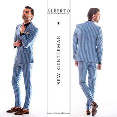 Un costum casual pentru zilele însorite ce vor veni.  #costumebarbatesti #costumebarbati #albertodobre #slimfit #costumnunta #costumoffice #costumbusiness #costumceremonie #costumcasual #mensuits #mensuitsteam #menswear #men #mensfashion #menstyle #suit #fashion #style #costumes #business #office Smart Casual, Mens Suits, Gentleman, Menswear, Slim, Costumes, Fitness, How To Wear, Clothes