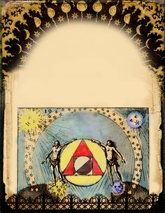 Philosopher's Stone Graphic pages by Grim of Cauldron Craft Oddities, c 2013