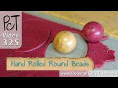 Making Round Polymer Clay Beads That Are Actually Round http://www.beadsandbeading.com/blog/rolling-round-polymer-clay-beads-by-hand/16554/ #handrolled #round beads #polymerclay