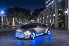 Mercedes Vision Tokyo Concept Unveiled At Tokyo Motor Show