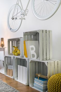 #decoração #quarto #sala #bicicleta #reciclagem