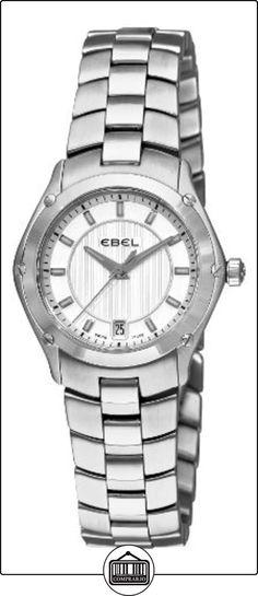 Ebel 1216015deporte pantalla analógica Swiss Plateado de cuarzo reloj de la mujer por Ebel  ✿ Relojes para mujer - (Lujo) ✿