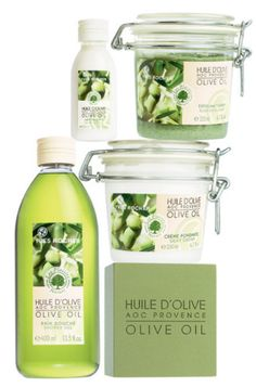 Yves Rocher's AOC Olive Oil Plaisirs Nature's for a delicious interlude of well-being!